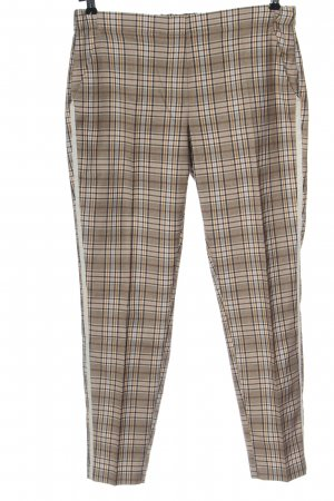 Opus Jersey Pants check pattern casual look