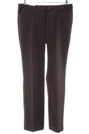 Opus Jersey Pants brown mixture fibre
