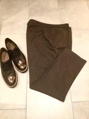 Opus Jersey Pants light brown-dark brown