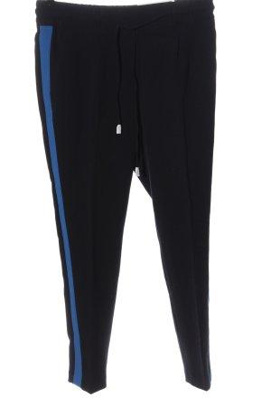 Opus Jersey Pants black-blue casual look