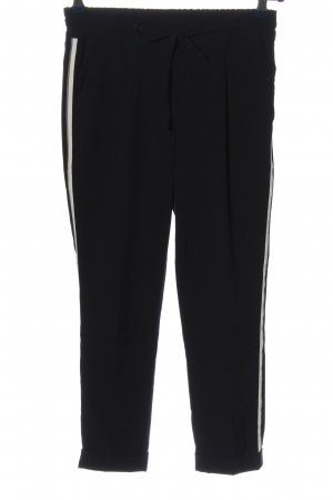 Opus Jersey Pants black-natural white casual look