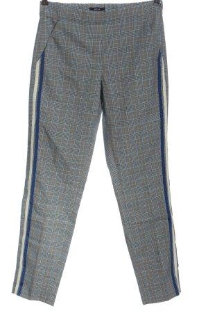 Opus Jersey Pants check pattern business style