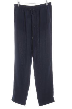 Opus Stoffhose dunkelblau Elegant