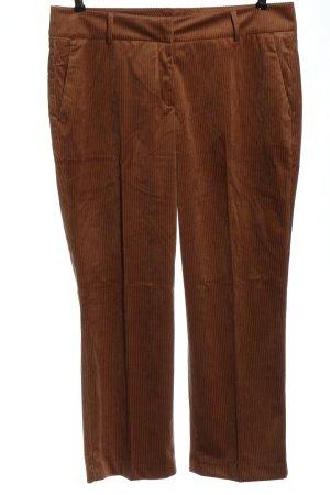 Opus Jersey Pants brown casual look