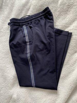 Opus Pantalón de pinza azul oscuro