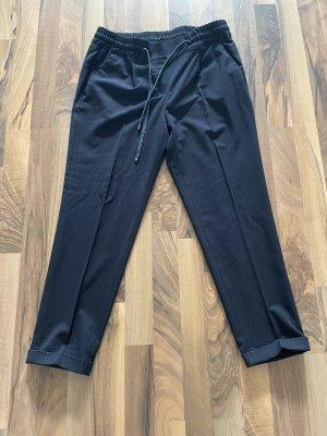 Opus Jersey Pants dark blue