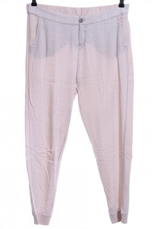Opus Stoffhose pink Allover-Druck Casual-Look