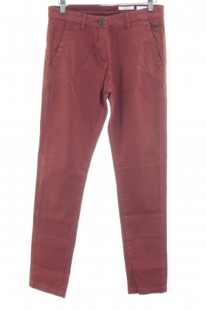 Opus Stoffhose rostrot Casual-Look