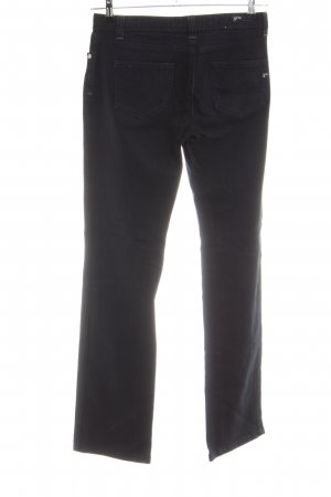 Opus Jeansy z prostymi nogawkami czarny W stylu casual