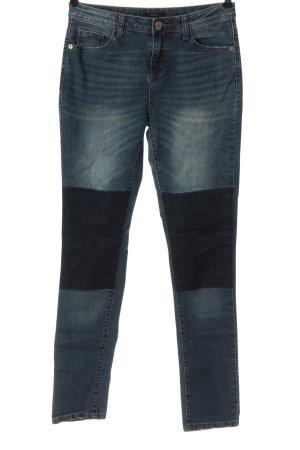 Opus Jeansy z prostymi nogawkami niebieski W stylu casual