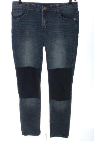 Opus Jeans a gamba dritta blu stile casual