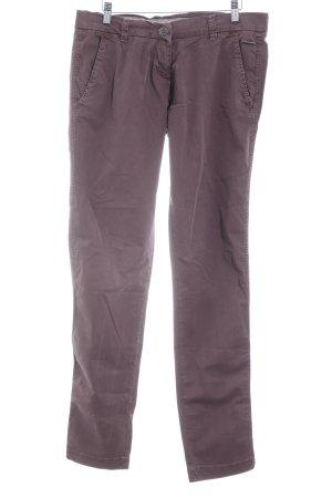 Opus Jeansy z prostymi nogawkami szaro-liliowy W stylu casual