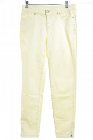 Opus Stretch Jeans hellgelb Casual-Look