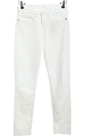 Opus Pantalón elástico blanco look casual