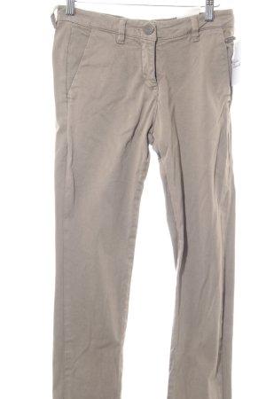Opus Stretchhose beige Casual-Look
