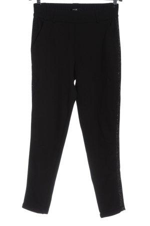 Opus Pantalon strech noir style mouillé