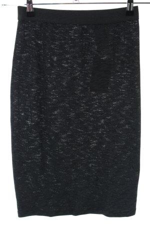 Opus Stretchrock schwarz meliert Casual-Look