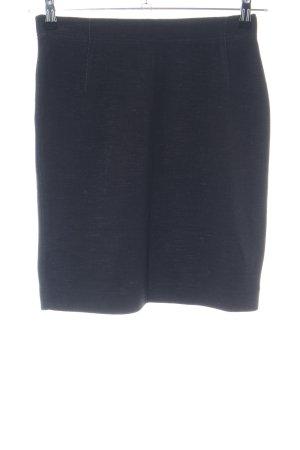 Opus Stretchrock blau meliert Business-Look