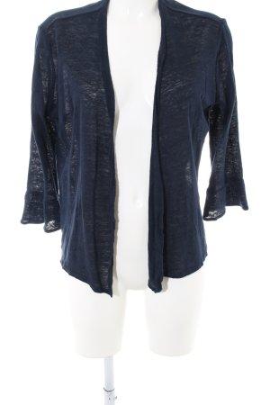 Opus Strick Cardigan blau meliert Casual-Look