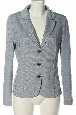 Opus Knitted Blazer light grey business style