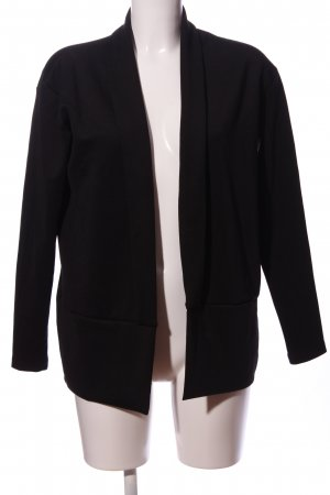 Opus Strickblazer schwarz Casual-Look