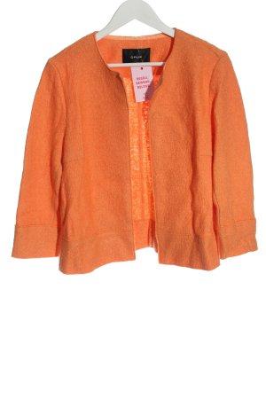 Opus Cardigan light orange casual look