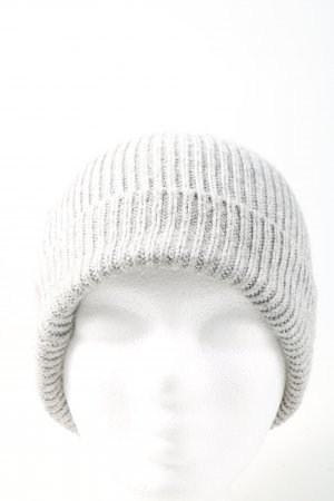 Opus Knitted Hat light grey flecked casual look