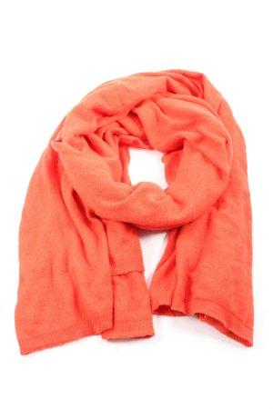 Opus Écharpe en tricot rouge style décontracté