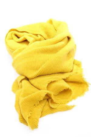 Opus Knitted Scarf primrose casual look