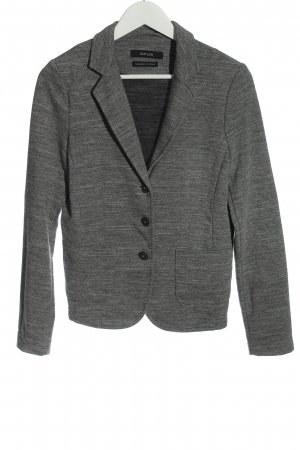 Opus Sweat Blazer light grey flecked casual look