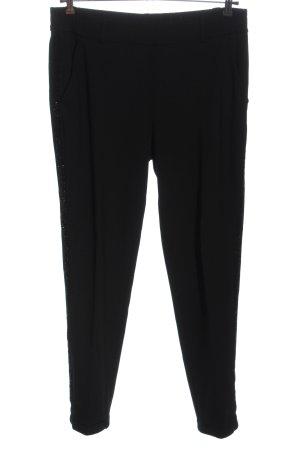 Opus Jersey Pants black flecked casual look