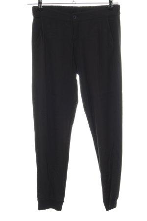 Opus Pantalon de jogging noir style d'affaires