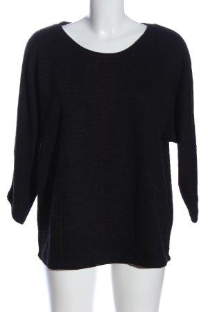Opus Sweatshirt schwarz Casual-Look