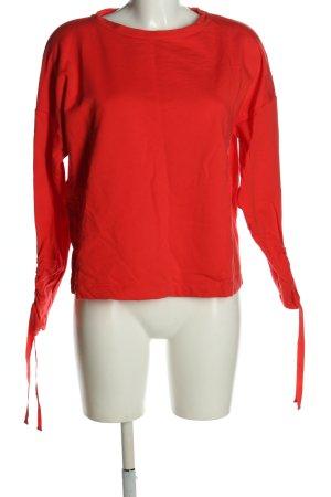 Opus Sweatshirt rot Casual-Look