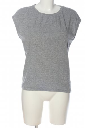 Opus T-Shirt hellgrau meliert Casual-Look