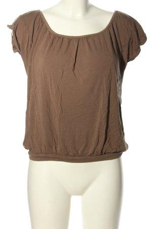 Opus T-Shirt braun Casual-Look