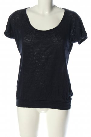 Opus T-Shirt schwarz meliert Casual-Look