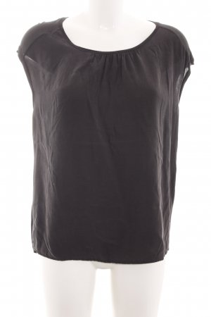 Opus T-Shirt schwarz Business-Look