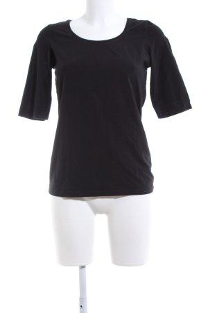 Opus T-Shirt schwarz Casual-Look