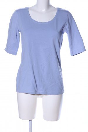 Opus T-Shirt blau Casual-Look
