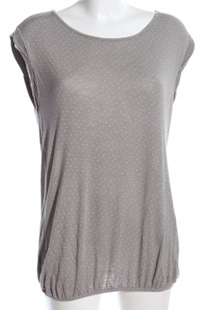 Opus T-Shirt schwarz-weiß Streifenmuster Casual-Look