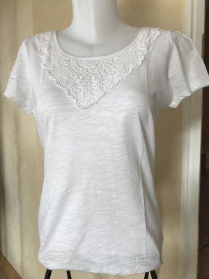 Opus T-Shirt Weiß Gr 38
