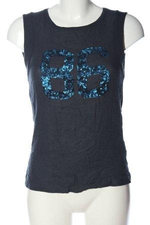 Opus Tanktop blau Casual-Look