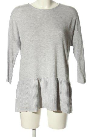 Opus Casacca grigio chiaro puntinato stile casual
