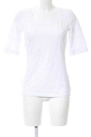 Opus U-Boot-Shirt weiß Casual-Look