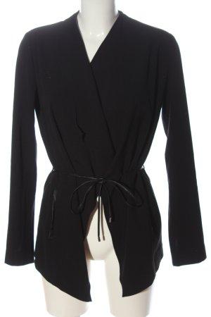 Opus Between-Seasons-Coat black casual look
