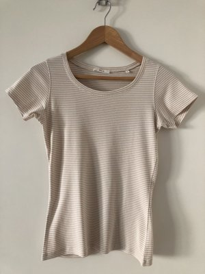 Opus Stripe Shirt white-beige