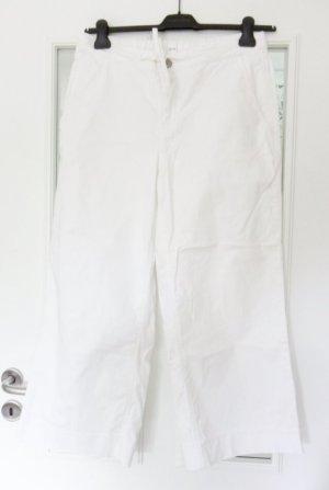 Opus 3/4 Length Jeans white cotton