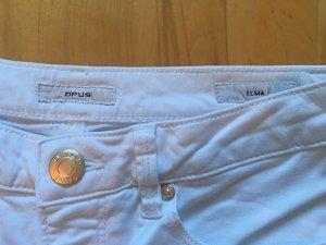 Opus Pantalone cinque tasche bianco