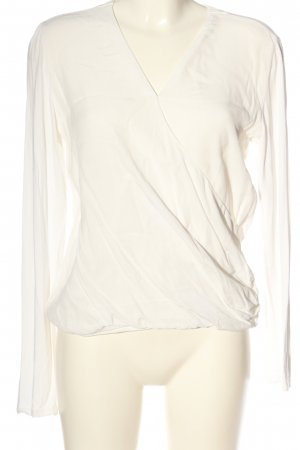 Opus Wraparound Blouse natural white casual look